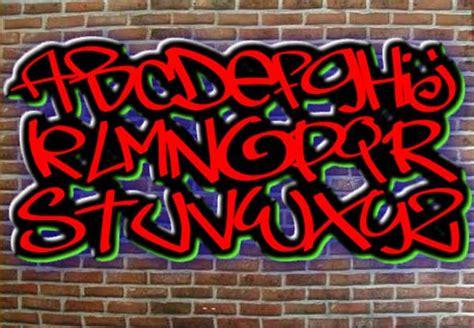 Graffiti Font Maker :  Graffiti Alphabet