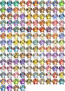 heres every single pokemon fusion possible literally all of them