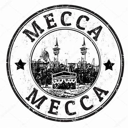 Mecca Stamp Vector Illustration Depositphotos