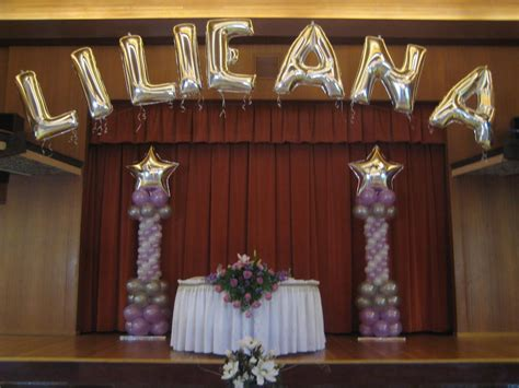 quinceanera balloon decorations party favors ideas