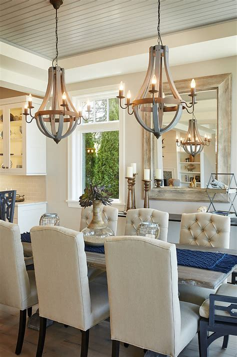 small island kitchen choosing the right size and shape light fixture for your