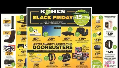 black friday table deals 2017 kohls black friday ad scans 2017