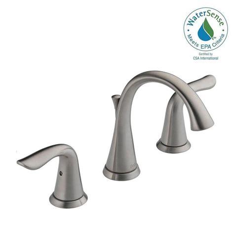kitchen sink faucets delta delta lahara 8 in widespread 2 handle bathroom faucet 5793
