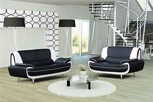 canape design 32 bregga noir blanc noir gris blanc With canape noir design