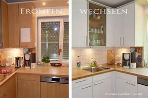Alte Küche Renovieren : k chenfronten erneuern gro e auswahl mit montage ~ Lizthompson.info Haus und Dekorationen
