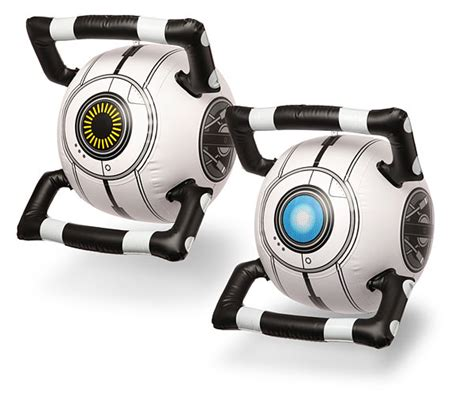 Portal 2 Inflatable Personality Core Thinkgeek