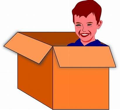 Box Clipart Child Vector Clip Domain 1995