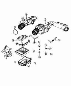 Jeep Grand Cherokee Hose  Make Up Air  Cleaner  Ezh  Esg