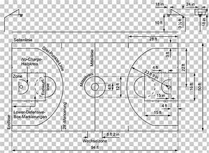 33 Basketball Court Drawing And Label