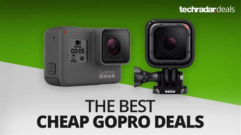 gopro best price the best cheap gopro deals prices and sales in august
