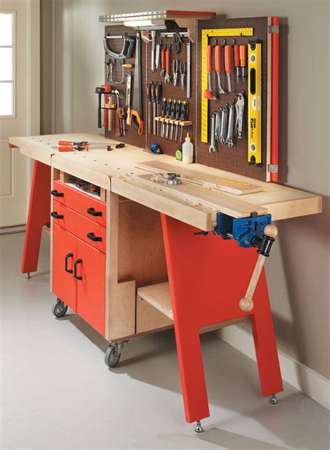 folding workshop woodworking project woodsmith plans