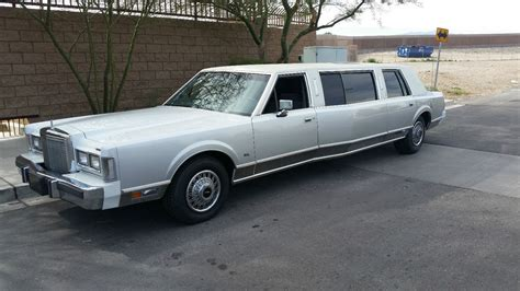 Limo For Sale by 1987 Lincoln Town Car Widebody Limousine For Sale