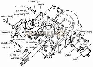 Gearbox Mountings - 109in V8