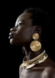 Black African Fashion Models