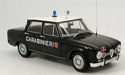 Alfa Romeo Giulia Carabinieri Police (it) 1970 Minichamps