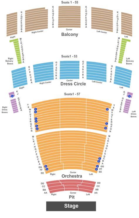 chrysler hall seating chart