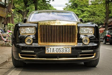 plated rolls royce gold plated rolls royce phantom in vietnam carsfresh