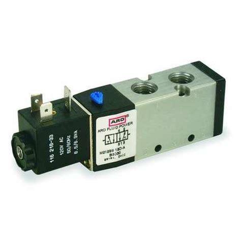 aro solenoid air valve 1 4 in 24vdc m212ss 024 d zoro