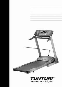 Tunturi Treadmill T40 User Guide