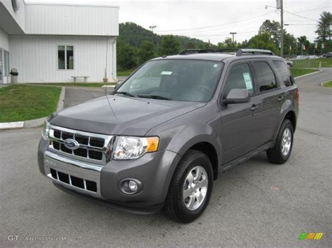 ford escape grey sterling gray metallic 2012 ford escape limited v6 4wd