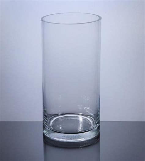 cylinder glass vases pc510 cylinder glass vase 5 quot x 10 quot 12 p c cylinder
