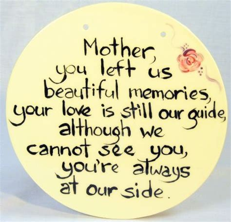Inspirational Quotes In Memory Of Mother