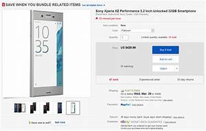 Sony Xperia Xz Can Be Had For  430
