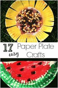 17 easy paper plate crafts for happy hooligans