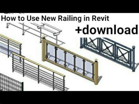 revit architecture   railing  revit tutorial