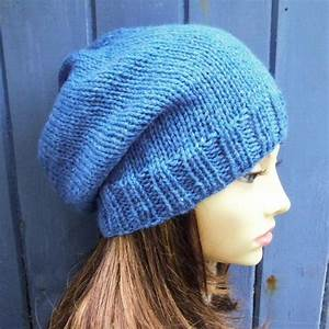 KNITTING PATTERN/CHARLEY Womans Slouchy Beanie Pattern ...