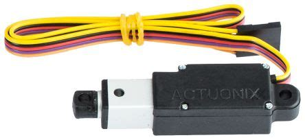 l12 10 100 12 s actuonix l12 micro linear actuator 20 duty cycle 12v dc 12mm s 10mm