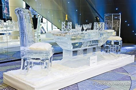 dining table sculptures by iceculture mobilegalleries