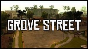 Grand Theft Auto - San Andreas Grove Street vs GTA V Grove ...