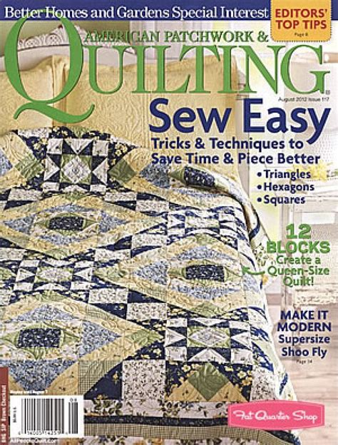 magazine better homes and gardens american patchwork
