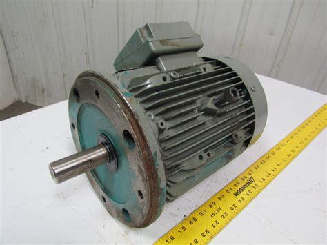 brook hansen 2425208w 02 3hp electric motor 1740rpm 1 1 8