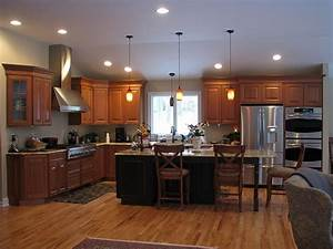 Cherry cabinetry - Traditional - Kitchen - other metro