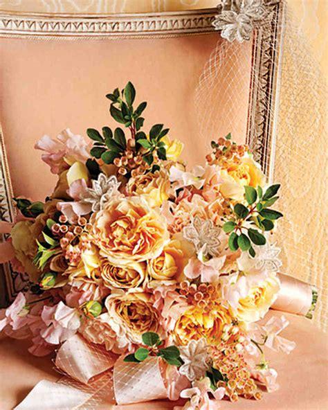 Orange Wedding Bouquets Martha Stewart Weddings