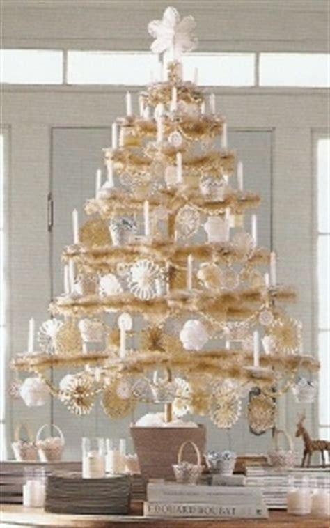 Martha Stewart Snow Feather Tree   Christmas Feather Tree