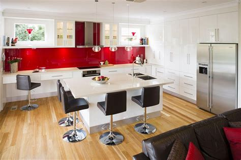 credence pour cuisine black and white kitchen design for your best home