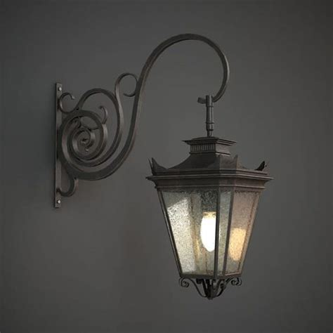 outdoor wall light 3d model 3d classic outdoor wall l cgtrader