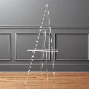 Gift Card Dimensions Acrylic Tripod Easel Reviews Cb2