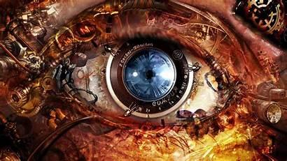 Steampunk Gears Mechanism Optics Eyes Camera Wallpapersafari