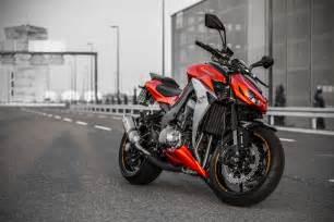 2016 Kawasaki Z1000 Red