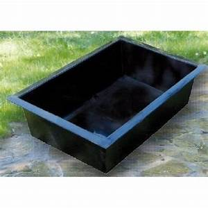 Bassin En Plastique : bassin de jardin rectangulaire laguna ~ Premium-room.com Idées de Décoration