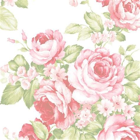 fenducci papiers peints fleurs abby rose bouquet rose
