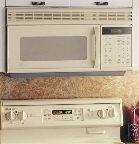 ge profile spacemaker oven  convection microwave cooking   venting jvmay