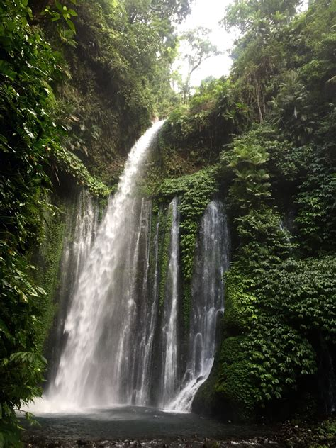 Sendang Gile And Tiu Kelep Waterfall Bayan Indonesia