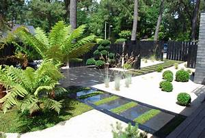 exterieur jardin design creation de jardin djunails With decoration de jardin design