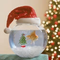 christmas fish aquarium decorate ideas wishforpets