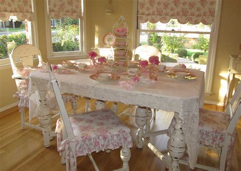 Charming Shabby Chic Dining Table Ideas To Create A